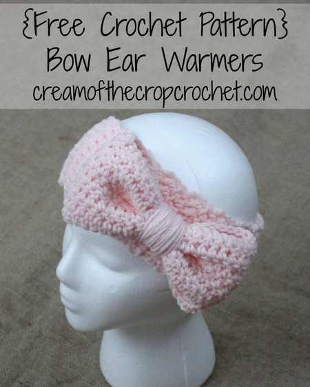 Bow Ear Warmers