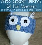 Owl Ear Warmer