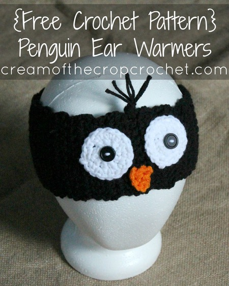 Penguin Ear Warmers