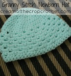 Granny Stitch Newborn Hat