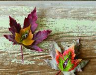 Maple Leaf Place Setting