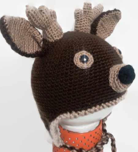 Deer hat for kids and adult