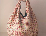 Sequined Knot Bag
