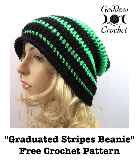Graduated Stripes Beanie