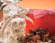 White Chocolate Fudge with Bourbon and Pecans
