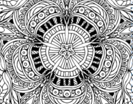 Free Adult Coloring Book Pages in Printable PDFs
