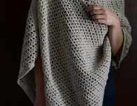 Simple Crochet Wrap Free Pattern - wear 3 ways!