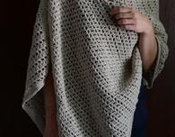 Simple Crochet Wrap Free Pattern - wear 3 ways!