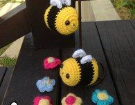 Crochet Pattern : Bumble Bee