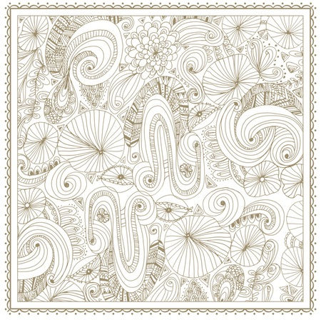 Free Gold Flower Coloring Pages to Print