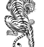 Free Tiger Coloring Page to Print (Adult Coloring Pages)