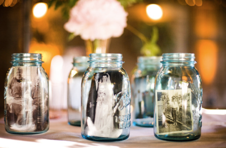 Photo Holder DIY Mason Jar