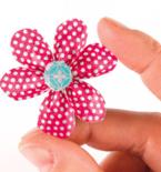 Bent Petal Washi Tape Flower