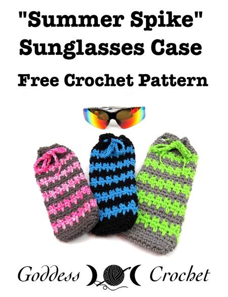 Summer Spike Sunglasses Case