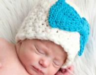 newborn crochet beanie