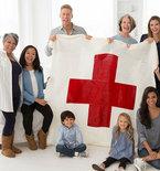 Red Heart Cares Crochet Blanket