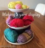 DIY yarn display: a tutorial