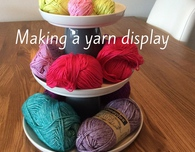 DIY yarn display: a tutorial