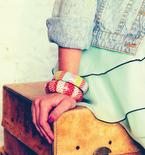 Washi Tape Bangle Bracelet