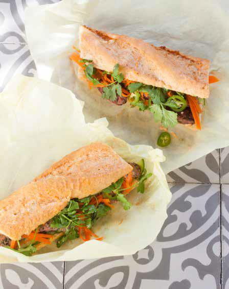 SAUSAGE BANH MI (Vietnamese Sandwich Recipe)