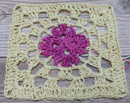 Crochet Decorative Square
