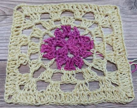 Crochet Decorative Square
