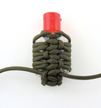 Paracord Hand Sanitizer Holder (Germ Grenade)
