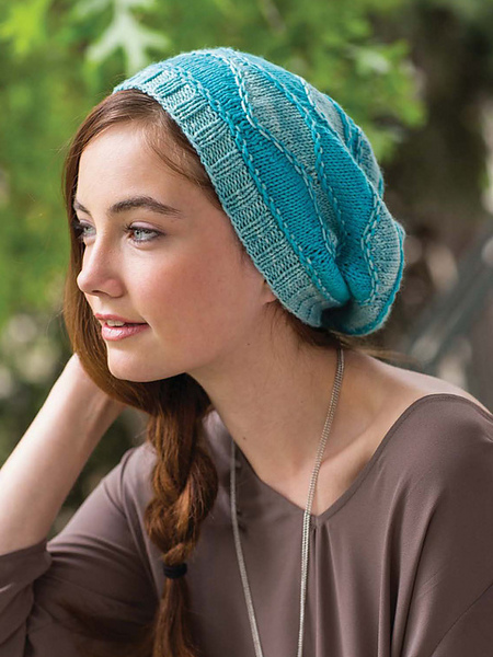Knitting Pattern: Weldon Waves Hat