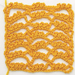 Fancy Trellis Crochet Stitch Pattern
