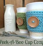 Peek-A-Boo Cup Cozy