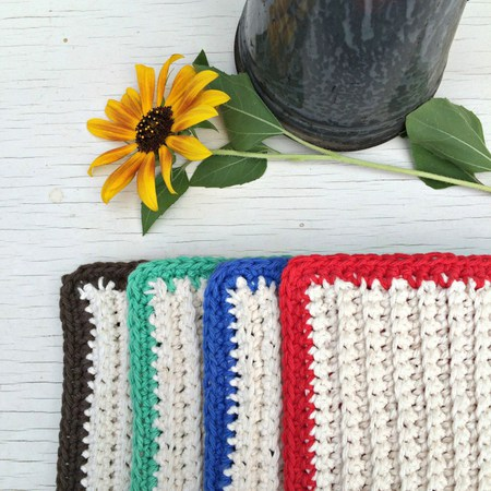 Extra Thick Crochet Hot Pad
