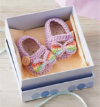 Crocheted Mary Janes for Babies