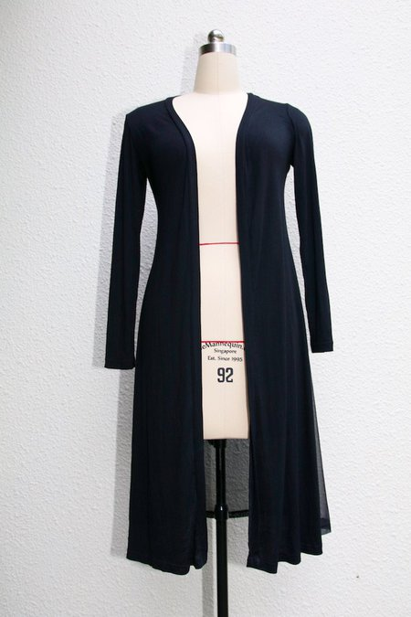 The easy long cardigan