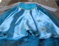 Adding Bling with Fabric Stencils, Sew-On Jewels, and Sequins