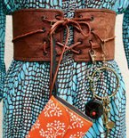 Boho Chic Belt, with secret pocket plus tutorial