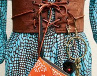 Boho Chic Belt, with secret pocket plus tutorial