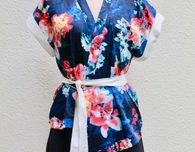 KIMONO TOP: Free Pattern and Tutorial