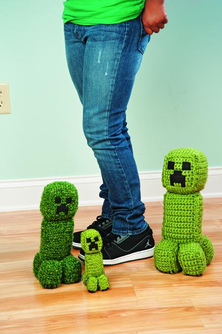 Crochet Minecraft Creeper Craftfoxes
