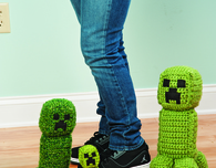 Crochet Minecraft Creeper