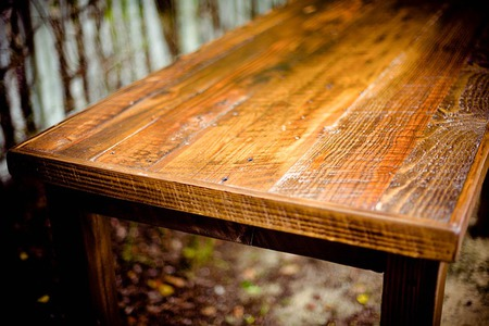 How To Build A Wooden Table From Scratch