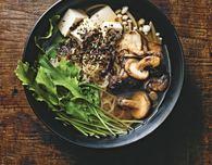 Mushroom Tofu Ramen (Vegetarian Recipe)