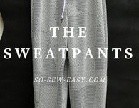 Sweatpants: FREE Pattern and Tutorial