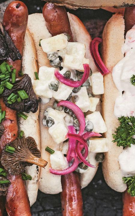 Creamy Potato and Caper Salad