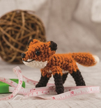 Amigurumi Fox (Free Crochet Pattern) by Allison Hoffman