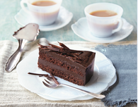 Frosted Vegan Chocolate Layer Cake