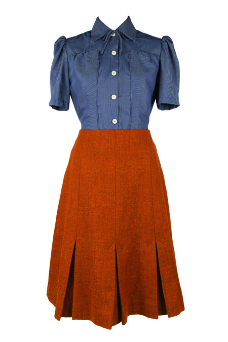 1940s Vintage Style Skirt (Free Sewing Pattern)