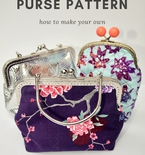 Metal frame purse pattern: How to make and test your own