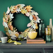 Fall Leaf Wreath Made with Cutting Machine