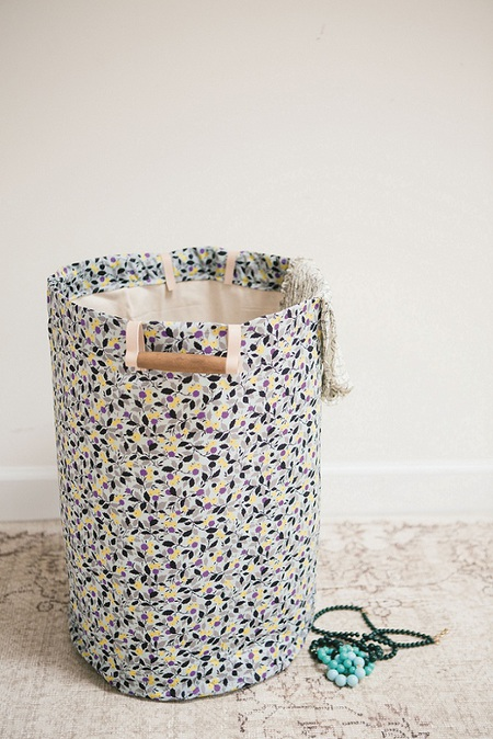 Liberty Print Hamper by Janet Crowther