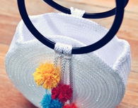 How to Make a Round Tote Bag Using Only Cord